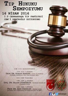 Tıp Hukuku Sempozyumu