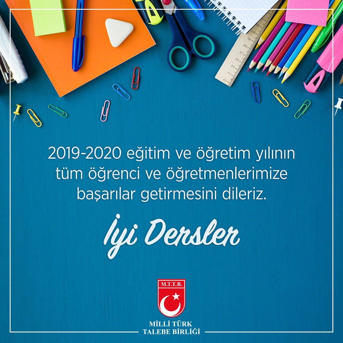 Eğitim ve Öğretim Yılı Başladı!