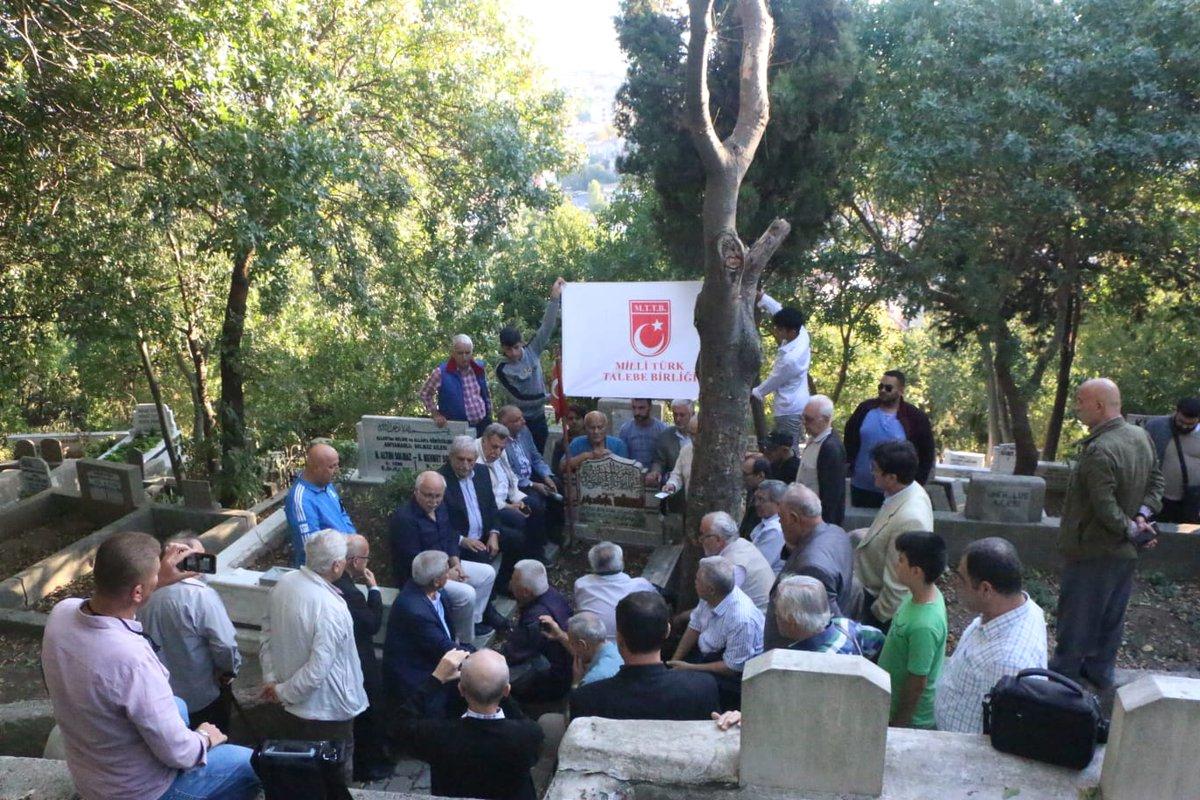Mustafa Bilgi'yi Kabri Başında Yâd Ettik
