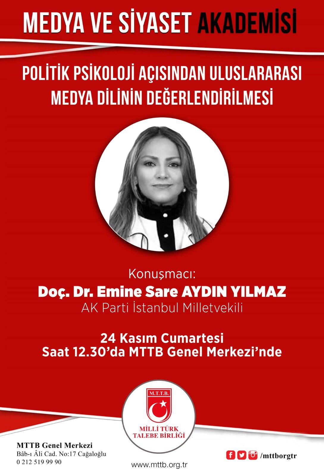 MEDYA VE SİYASET AKADEMİSİ 3. HAFTA