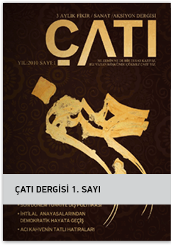 ÇATI Dergisi 1