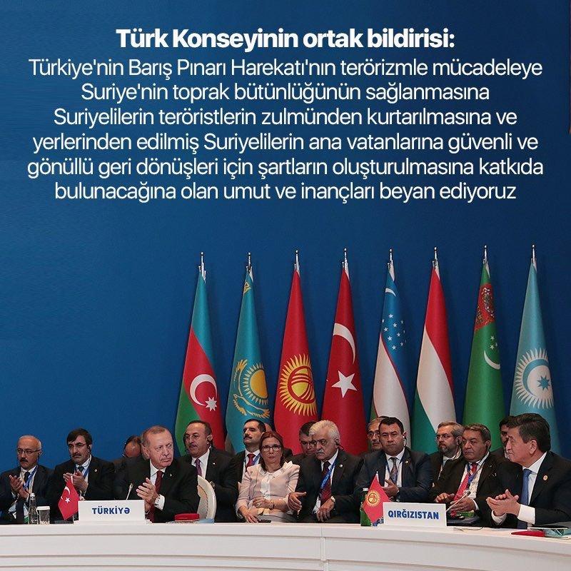 Türk Konseyinin Ortak Bildirisi