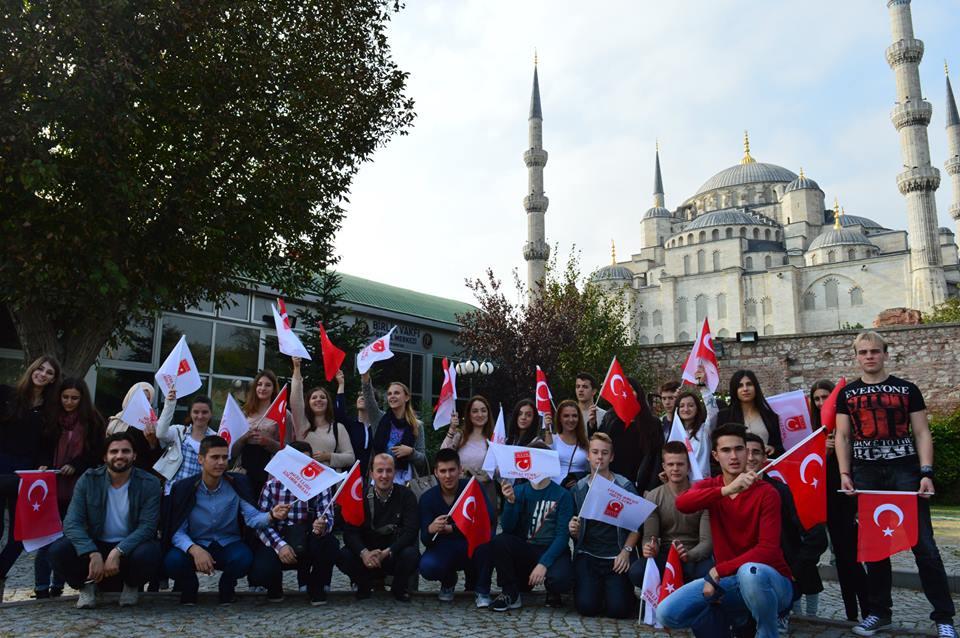Hırvatistan Müftülüğünün MTTB'ye Ziyareti.