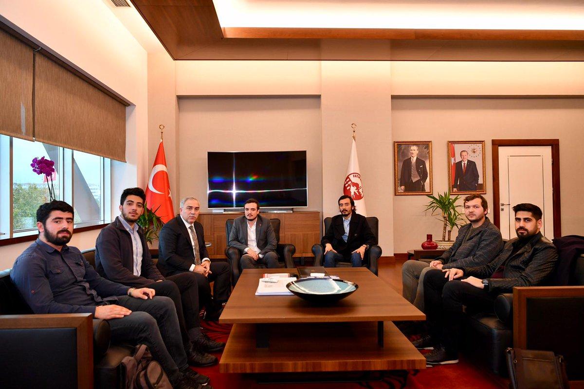 Fatih Belediye Başkanı Ergün Turan'a Ziyaret