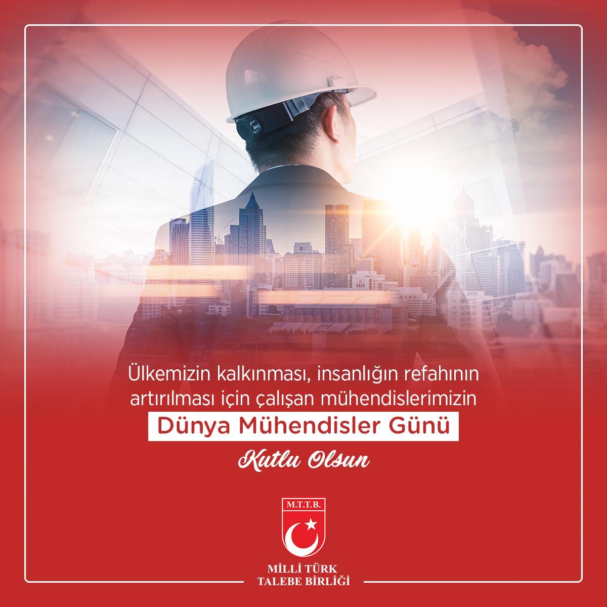 Dünya Mühendisler Günü Kutlu Olsun !