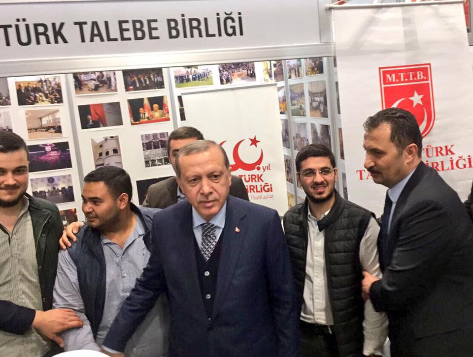Eskimez MTTB'li Cumhurbaşkanımız Sn. Recep Tayyip Erdoğan standımızı ziyaret etti.