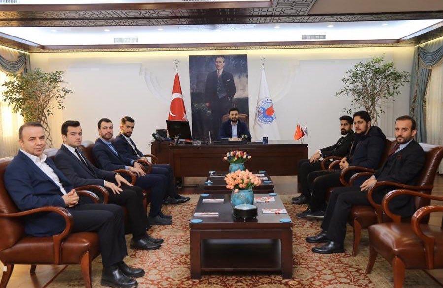 Kağıthane Belediye Başkanı Sayın Mevlüt ÖZTEKİN'e Ziyaret
