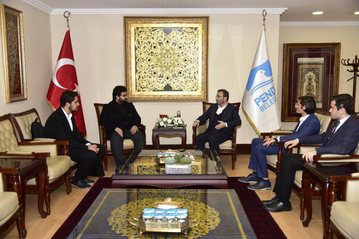 Pendik Belediye Başkanı Sayın Ahmet CİN'e Ziyaret