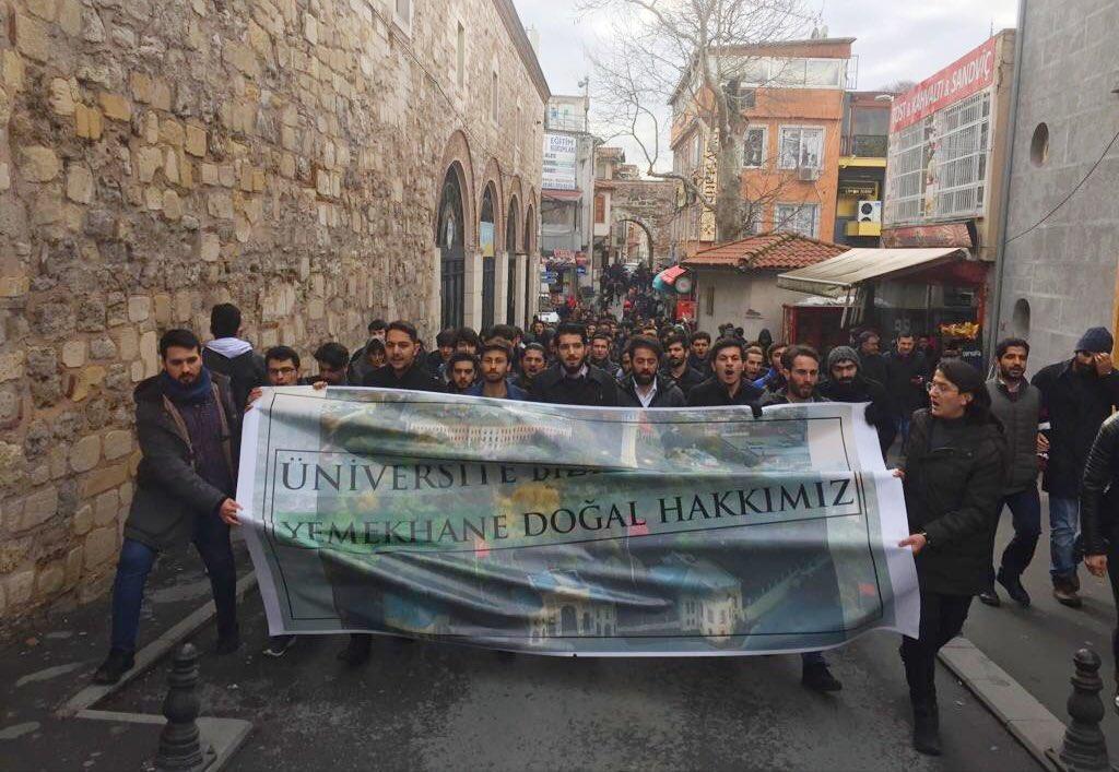 İstanbul Üniversitesi Yemekhanesi Hakkında Basın Açıklaması