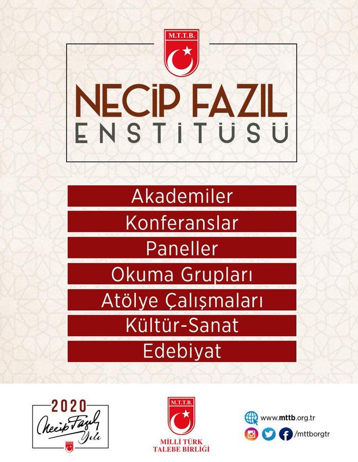 2020 NECİP FAZIL YILI