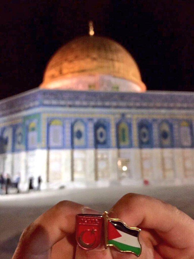 Kudüs Filistin'in Başkentidir ve Müslümanlarındır!