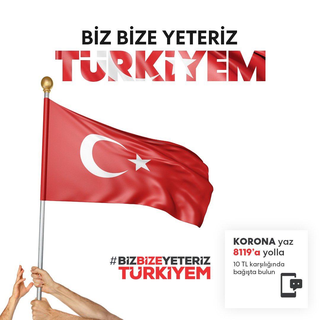 #BizBizeYeterizTürkiyem