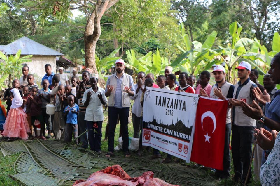 Paylaşmak için Tanzanya ve Sudan'daydık.
