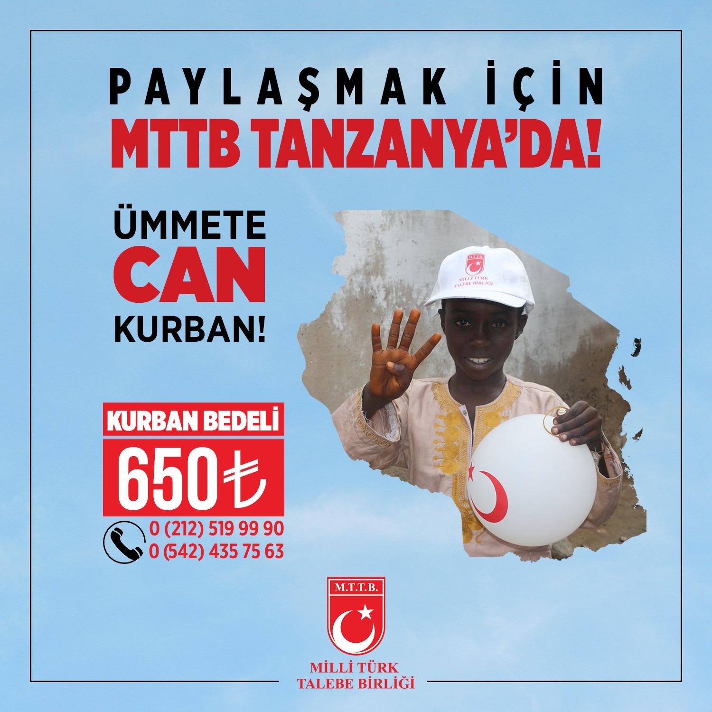 Paylaşmak için MTTB Tanzanya'da !